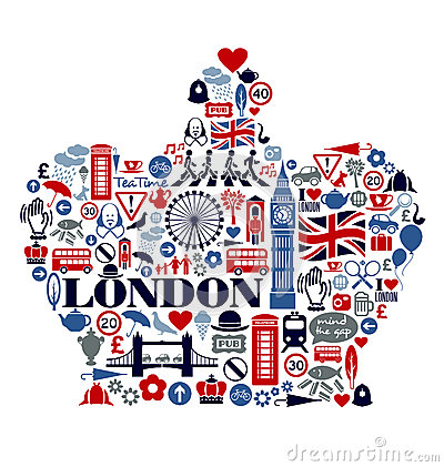 london-great-britain-icons